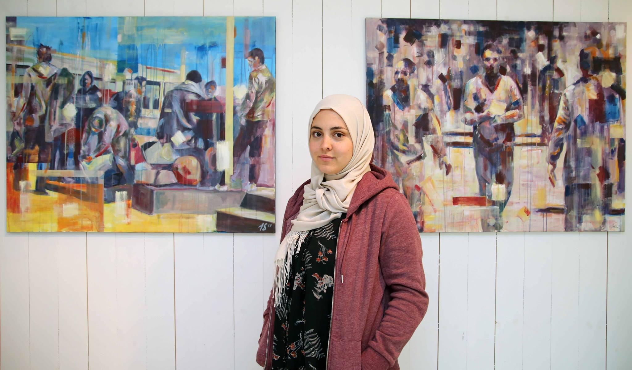 Norsk-irakisk kunstner i Åsenhuset